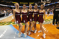 6 April 2008: Stanford Cardinal Dollies during Stanford's 82-73 win against the Connecticut Huskies in the 2008 NCAA Division I Women's Basketball Final Four semifinal game at the St. Pete Times Forum Arena in Tampa Bay, FL.