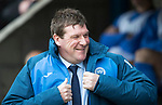 St Johnstone v Partick Thistle…13.05.17     SPFL    McDiarmid Park<br />All smiles on the face of saints manager Tommy Wright<br />Picture by Graeme Hart.<br />Copyright Perthshire Picture Agency<br />Tel: 01738 623350  Mobile: 07990 594431