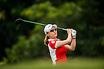 TAOYUAN, TAIWAN - OCTOBER 27:  So Yeon Ryu tees of on the 8th hole during the day three of the Sunrise LPGA Taiwan Championship at the Sunrise Golf Course on October 27, 2012 in Taoyuan, Taiwan.  Photo by Victor Fraile / The Power of Sport Images