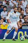 Daniel Carvajal Ramos of Real Madrid in action during their La Liga 2017-18 match between Real Madrid and Valencia CF at the Estadio Santiago Bernabeu on 27 August 2017 in Madrid, Spain. Photo by Diego Gonzalez / Power Sport Images