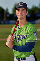Kane County Cougars Blaze Alexander (5) poses for a photo before a Midwest League game against the Dayton Dragons on July 20, 2019 at Northwestern Medicine Field in Geneva, Illinois.  Dayton defeated Kane County 1-0.  (Mike Janes/Four Seam Images)
