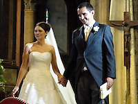 PICTURE RE-FILED, PLEASE SEE IMPORTANT LEGAL NOTICE IN THE SPECIAL INSTRUCTIONS FIELD<br /> Pictured: Richard Osman (R) with his wife at their wedding<br /> Re: The British passenger on board EgyptAir flight MS804 which crashed into the Mediterranean has been named locally as Richard Osman.<br /> The doctor's son, 41, grew up in Carmarthen and was believed to be flying to work for a gold mining company in Egypt when the plane vanished.<br /> He was a geologist with a two-year-old daughter and worked for exploration and research companies which involved him travelling widely around the world.<br /> There were believed to be 30 Egyptians, 15 French, two Iraqis, and one each from the UK, Belgium, Kuwait, Saudi Arabia, Sudan, Chad, Portugal, Algeria and Canada among the 66 passengers on board the flight.