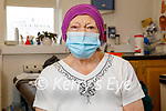 Ita Enright from Ardfert received her vaccince at the Fuchsia Medical Centre in Tralee on Friday.