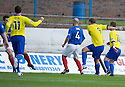 Morton's Peter Weatherson scores Morton's second goal ...
