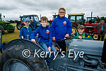 Members of the Ballyduff Vintage Club at the vintage tractor run in Abbeydorney on Sunday, l to r: Adam Byrnes, Oisin Flavin, Sean Allan and Adam O'Neill.