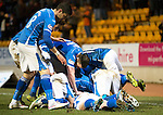 St Johnstone v Inverness Caley Thistle…09.03.16  SPFL McDiarmid Park, Perth<br />Chris Kane celebrates his goal<br />Picture by Graeme Hart.<br />Copyright Perthshire Picture Agency<br />Tel: 01738 623350  Mobile: 07990 594431