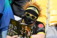 Lions fan arrive for the Mitre 10 Cup - Wellington v Otago at Sky Stadium, Wellington, New Zealand on Saturday 10 October 2020. <br /> Photo by Masanori Udagawa. <br /> www.photowellington.photoshelter.com