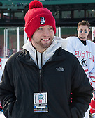Sam Kelley (BU - Video Coordinator) - The Boston University Terriers practiced on the rink at Fenway Park on Friday, January 6, 2017.The Boston University Terriers practiced on the rink at Fenway Park on Friday, January 6, 2017.