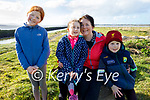 Enjoying a stroll at the Lock gates in Blennerville on Sunday, l to r: Ella, Aideen, Clare and Tomas Dennehy.