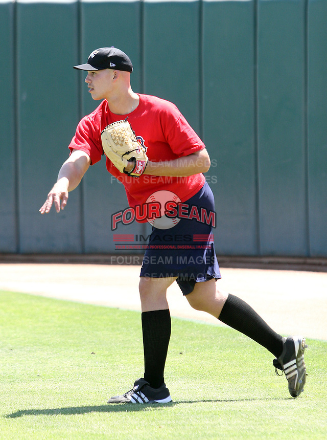 Justin Masterson / Lancaster JetHawks..Photo by:  Bill Mitchell/Four Seam Images