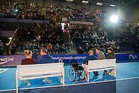 Rotterdam, Netherlands, December 17, 2016, Topsportcentrum, Lotto NK Tennis,  champions parade <br /> Photo: Tennisimages/Henk Koster