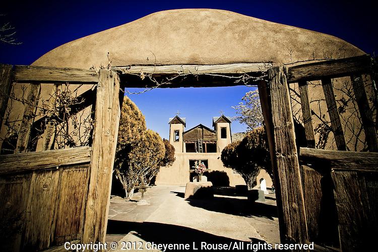 Santuario de Chimayo - Chimayo Winter - New Mexico