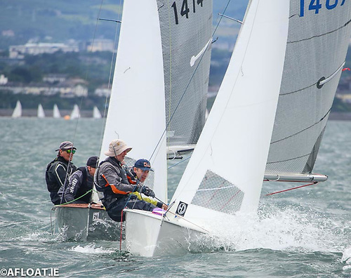 GP14s will race for Leinster honours on Dublin Bay in July