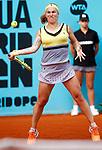 Svetlana Kuznetsova, Russia, during Madrid Open Tennis 2017 match. May 8, 2017.(ALTERPHOTOS/Acero)