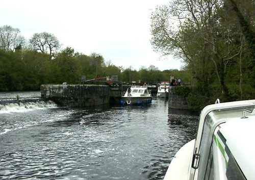 File image of Clarendon Lock in Co Roscommon