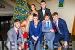 Attending the Gaelcoláiste Chiarraí Debs in the Ballyroe Heights Hotel on Thursday night.<br /> Front l to r: Jason Dillon, Maeve Dalton, Dean Lennihan, Sean Fitzgibbon and Enda O'Connor. Standing l to r Mébh Moloney and Dan Geaney.