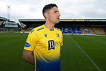 St Johnstone FC away kit for the 2020-21 Season worn by Michael O'Halloran<br />Picture by Graeme Hart.<br />Copyright Perthshire Picture Agency<br />Tel: 01738 623350  Mobile: 07990 594431