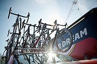 Lotto-Belisol Ridley teambikes<br /> <br /> La Flèche Wallonne 2014