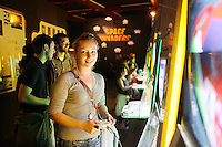 NO REPRO FEE. 20/9/2010. Game On Exhibition. Christina Coburn  is pictured the opening of the Game On Exhibition at Dublin's Ambassador Theatre. Game On is an action packed gaming exhibition with fun for all the family. Enjoy a totally interactive experience with rare memorabilia and play your way through over 120 playable games from the arcade classics to the latest releases. Now running at the Ambassador Theatre for a limited run. Tickets from 10 euro including booking fee on sale now See Ticketmaster.ie and Gameon-Dublin.ie for family and group discounts plus more details. Picture James Horan/Collins Photos