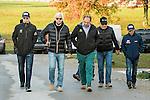 October 29, 2015:  The Pharoah crew.  The Zayats, Bob Baffert and Victor Espinoza.  Sue Kawczynski/ESW/CSM