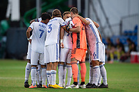 LAKE BUENA VISTA, FL - JULY 22: FC Cincinnati before the game during a game between New York Red Bulls and FC Cincinnati at Wide World of Sports on July 22, 2020 in Lake Buena Vista, Florida.
