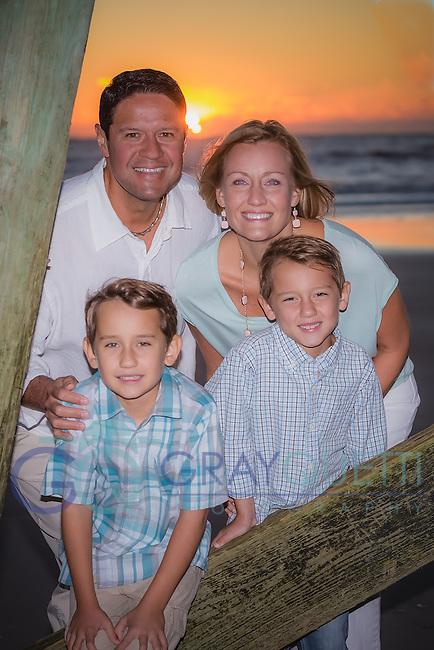 Chung family portraits on 10-22-16 at Atlantic Beach, Fl