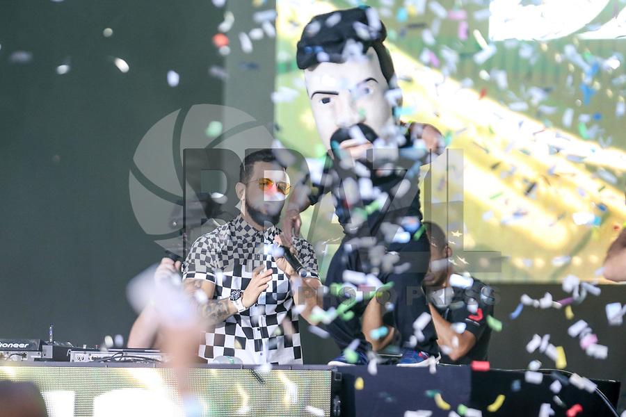 NOVA YORK, EUA, 02.09.2018 - BR DAY-EUA -  Dennis DJ durante o BR Day New York 2018 na cidade de Nova York nos Estados Unidos neste domingo, 02. (Foto: Vanessa Carvalho/Brazil Photo Press)