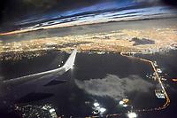 """Night Flight"" from LAX by Art Harman"