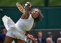 London, England, 28 june, 2016, Tennis, Wimbledon, Serena Williams (USA) <br /> Photo: Henk Koster/tennisimages.com