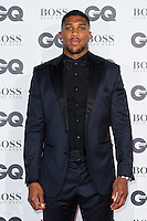 Anthony Joshua arrives for the GQ Men Of The Year Awards 2016 at the Tate Modern, London