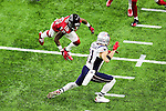 New England Patriots wide receiver Julian Edelman (11) in action during Super Bowl LI at the NRG Stadium in Houston, Texas.