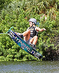 September 13, 2014:  Scenes from the WWA Wakeboard World Championships at Mills Pond Park in Fort Lauderdale, FL.  Women's  Professional Wakeboarder, Raimi Merritt USA finishes 3th in the event.  Liz Lamont/ESW/CSM