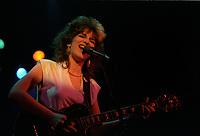 Chantale Paris<br /> , en spectacle, le 27 Juin 1983,<br /> <br /> ne pas confondre avec Chantal Pary<br /> <br /> <br /> PHOTO : Agence Quebec Presse