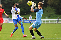 Harrison Male of Worthing during Enfield Town vs Worthing, Pitching In Isthmian League Premier Division Football at the Queen Elizabeth II Stadium on 16th October 2021