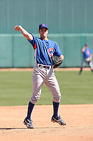 Nate Samson, Chicago Cubs 2010 minor league spring training..Photo by:  Bill Mitchell/Four Seam Images.