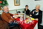 Raymond, Carmel and Cora Roche enjoying the evening in Cassidys on Friday.