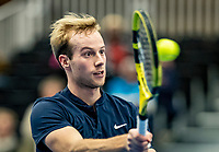 Alphen aan den Rijn, Netherlands, December 22, 2019, TV Nieuwe Sloot,  NK Tennis, Final men single: Botic van de Zandschulp (NED)<br /> Photo: www.tennisimages.com/Henk Koster