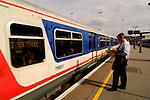 Train-station London Bridge, Train, London, England, United Kingdom, Great Britain