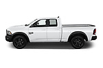 Car Driver side profile view of a 2021 Ram 1500-Classic Warlock 4 Door Pick-up Side View