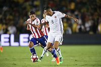 Pasadena, CA - Tuesday June 07, 2016: Colombia midfielder Edwin Cardona (8) during a Copa America Centenario Group A match between Colombia (COL) and Paraguay (PAR) at Rose Bowl Stadium.