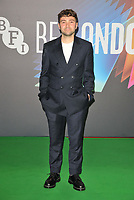 """Jake Davies at the 65th BFI London Film Festival """"The Phantom of the Open"""" world premiere, Royal Festival Hall, Belvedere Road, on Tuesday 12th October 2021, in London, England, UK. <br /> CAP/CAN<br /> ©CAN/Capital Pictures"""