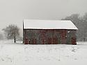 Barn off Norconk Rd in Empire, Michigan, December 21, 2020.