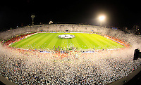 General view of FC Partizan stadium, during  UEFA Champions league match between  in group H against FC Partizan Belgrade Vs. Arsenal, London, Serbia, Monday, Sept. 28, 2010.  (Srdjan Stevanovic/Starsportphoto.com)