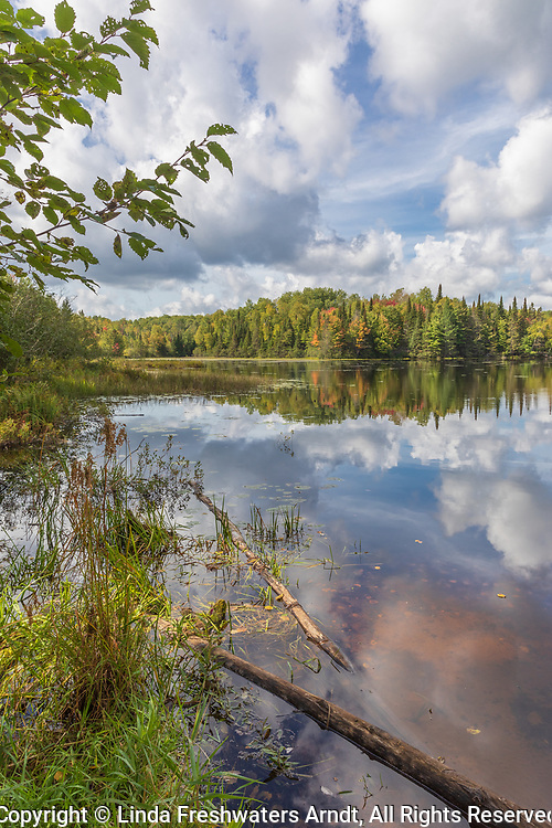 Day Lake in the Chequamegon-Nicolet National Forest in early September.