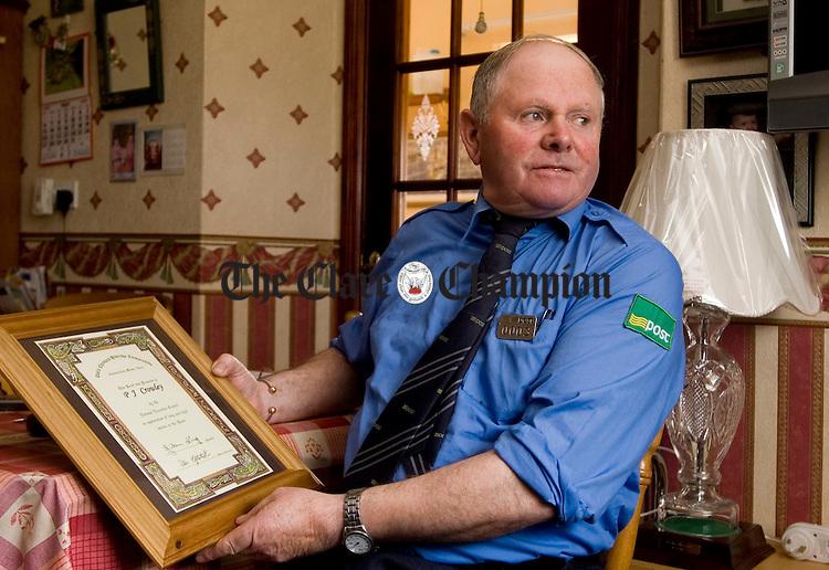 PJ Gormley retired Postman Kilmihil
