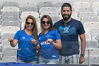BELO HORIZONTE, MG, 27.01.2019: CRUZEIRO-ATLETICO - Torcida durante partida entre Cruzeiro e Atletico, válida pela 3a rodada do campeonato mineiro 2019,  no Estadio Mineirão em Belo Horizonte, MG, na manhã desse domingo (27) (foto Giazi Cavalcante/Codigo19)