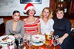 Mihaela Lynch, Gosia Szczodrowska, Anna Zlotocka and Kristine Sasko enjoying the evening in the Grand Hotel on Friday.