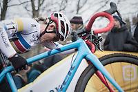 Katie Compton (USA/KFCracing)<br /> <br /> 2016 CX UCI World Cup Zeven (DEU)