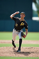 Pittsburgh Pirates pitcher Jacob Webb (70) delivers a pitch during a Florida Instructional League game against the Baltimore Orioles on September 22, 2018 at Ed Smith Stadium in Sarasota, Florida.  (Mike Janes/Four Seam Images)