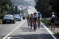Team A Bloc CT riders in the early breakaway group. <br /> <br /> Dwars Door Het Hageland 2020<br /> One Day Race: Aarschot – Diest 180km (UCI 1.1)<br /> Bingoal Cycling Cup 2020